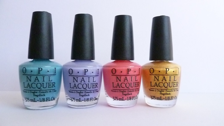 OPI Euro collection