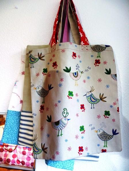 tote bags hanging